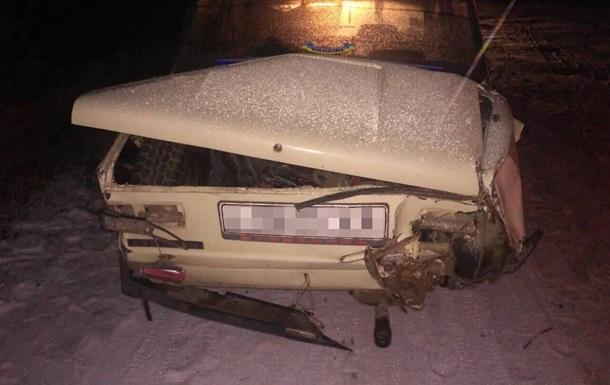 У Харківській області п яний чоловік потрапив у ДТП на викраденому авто