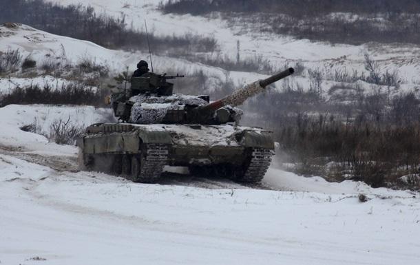 В Черниговской области проходят тактические учения ВСУ
