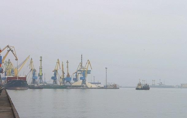 Бердянский порт сокращает работу