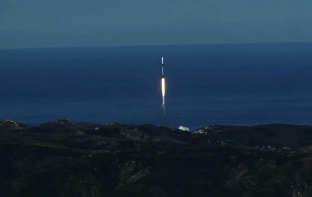 SpaceX запустила 64 спутника за раз