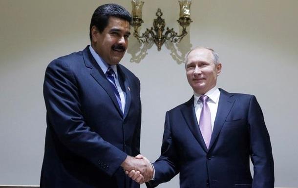 Мадуро вылетел на встречу с Путиным