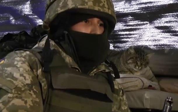 Штаб ООС показал видео с передовой