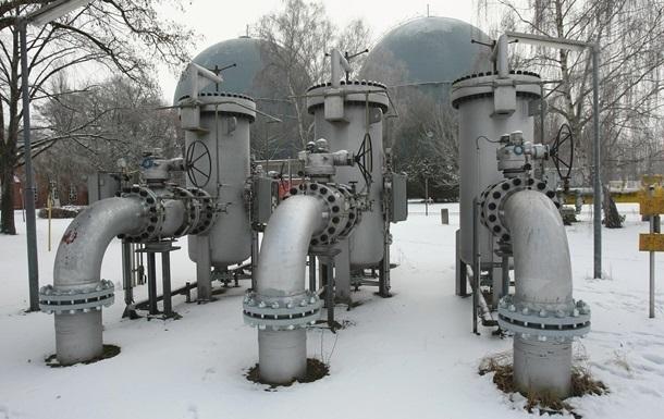 Україна в грудні вдвічі знизила імпорт газу
