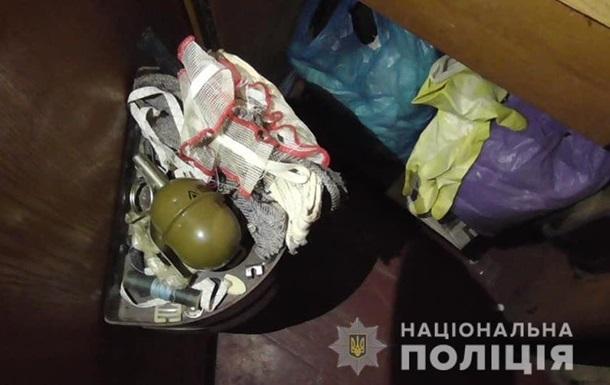 В Харькове задержали наркодельца с гранатой