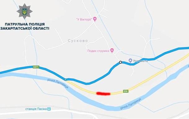 На Закарпатті перекриють ділянку траси Київ - Чоп