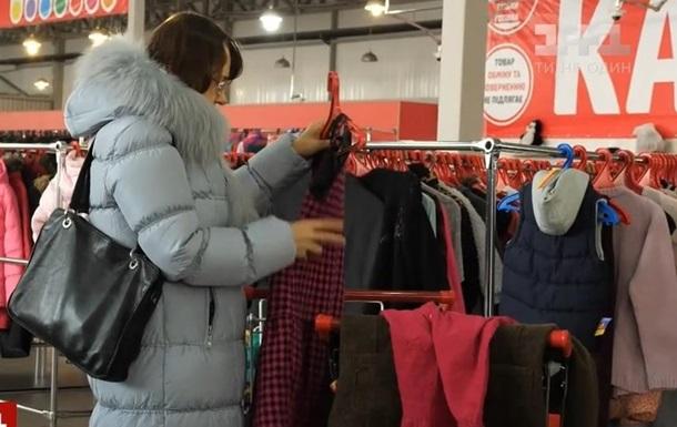 Более половины импорта одежды в Украину составляет секонд-хенд