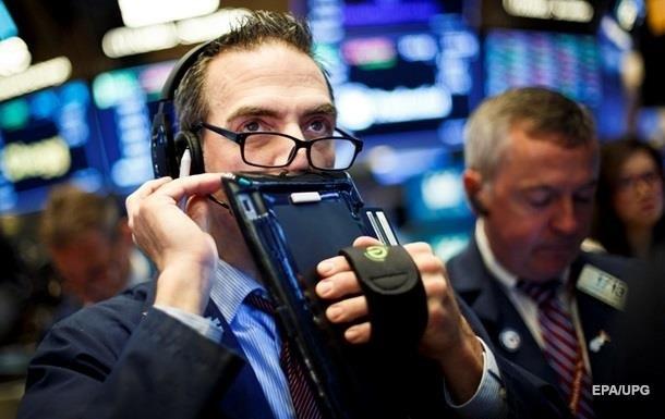 Біржі США завершили торги падінням