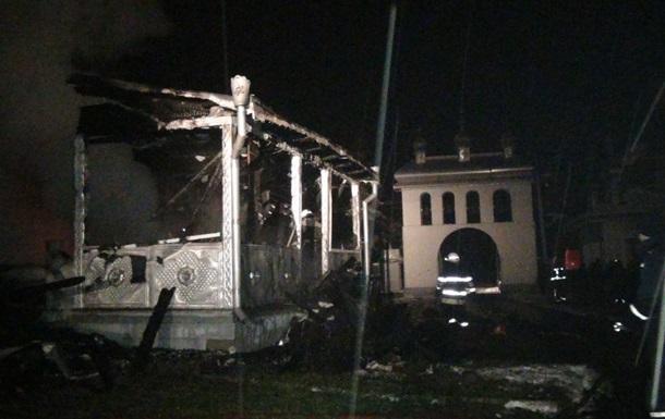 В Ивано-Франковской области сгорела церковь