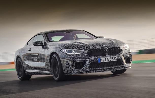 Появились фото мощного спорткупе BMW M8