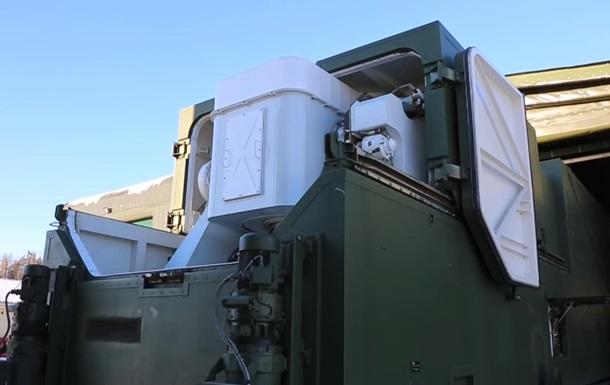 У РФ показали відео розгортання бойового лазера