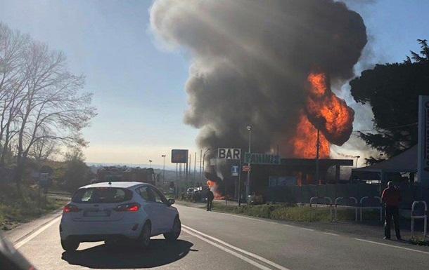 Під Римом вибухнув бензовоз, є жертви