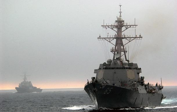Эсминец США проплыл в спорных водах Японского моря