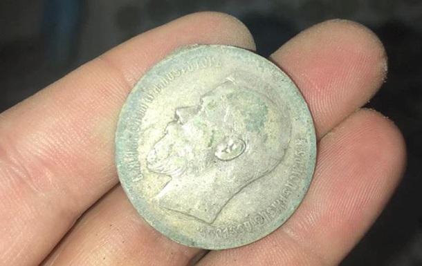 У Києві знайшли скарб часів Російської імперії