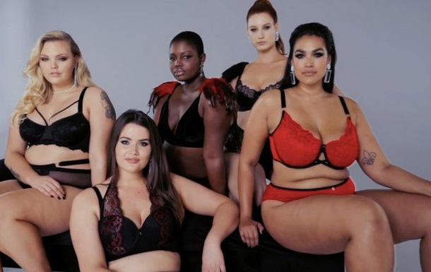 Моделі plus size  відповіли  Victoria s Secret
