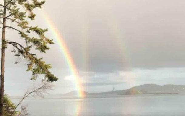 Редчайшую аномальную радугу сняли на фото