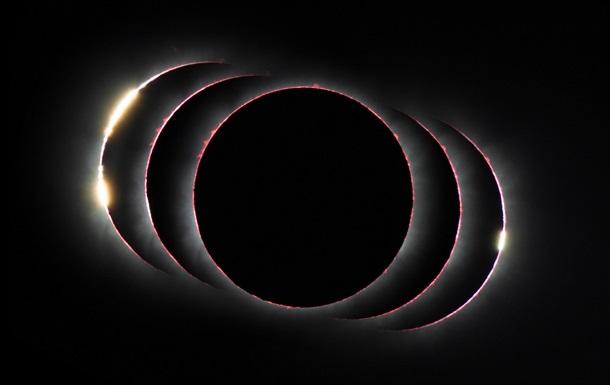Красота затмения. Выбрано лучшее космическое фото