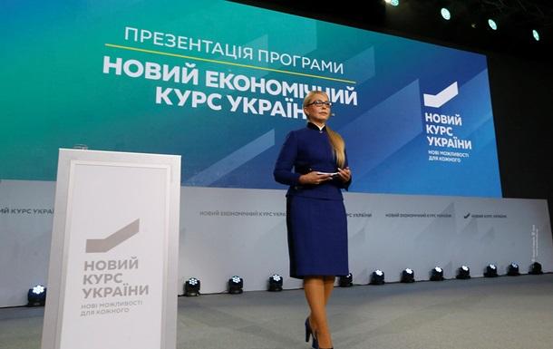 Украинцы сказали поддерживают или нет Новый курс Юлии Тимошенко