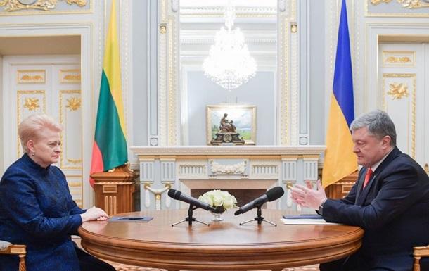 Украина и Литва договорились о сотрудничестве