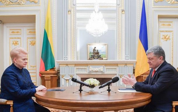 Чиновникам в Литві погрожують через позицію щодо України - Грібаускайте