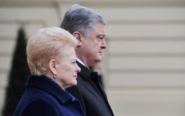 Украина и Литва резко увеличили товарооборот
