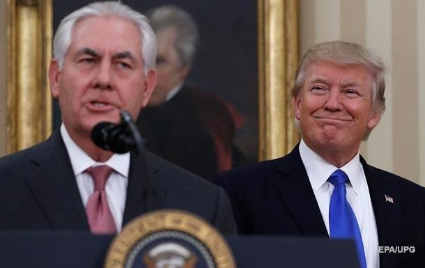 Трамп назвал Тиллерсона  глупым, как пробка