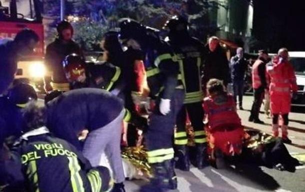 В Италии во время давки в ночном клубе погибли шесть человек