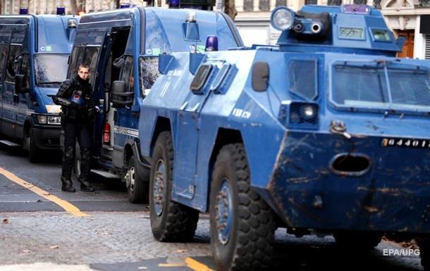 Протести в Парижі: на вулиці вивели бронетехніку
