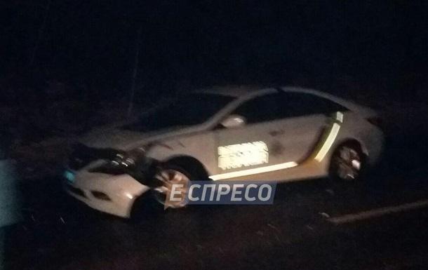 В Киеве столкнулись два полицейских авто - СМИ
