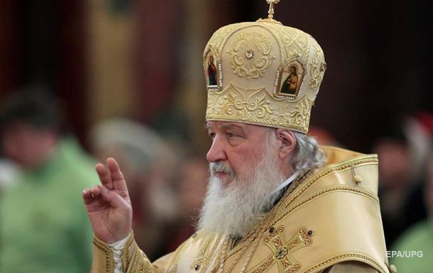 Патріарх Кирило обурений українською автокефалією