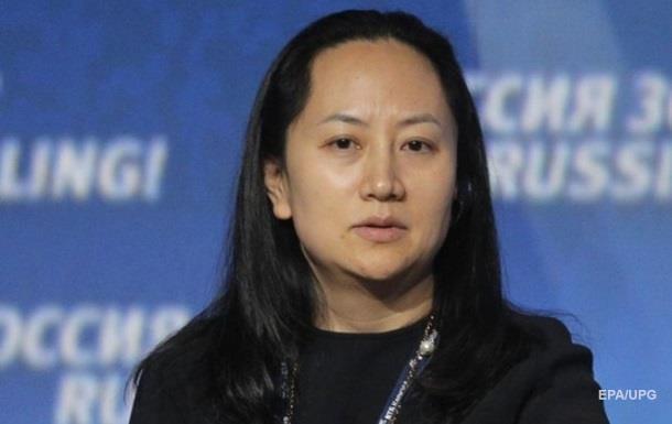 Фіндиректор Huawei заявила про свою невинність