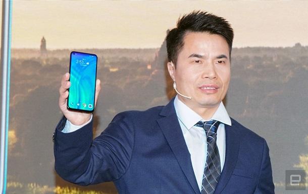 Первый  дырявый  смартфон. Huawei показала флагман