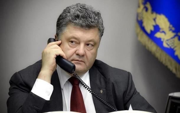 Порошенко обсудил с новой главой ХДС освобождение украинских моряков
