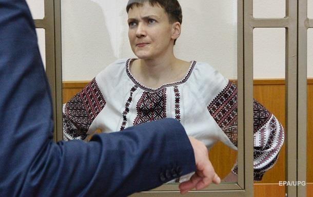 Стан Савченко різко погіршився через голодування - сестра