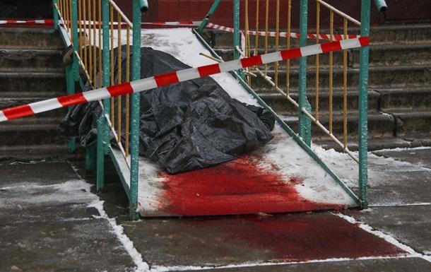 В Киеве участник АТО выпрыгнул с 14 этажа