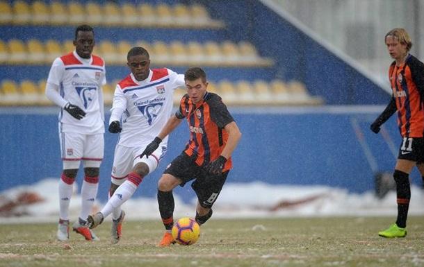 Шахтар завершив виступи в Юнацькій лізі УЄФА нічиєю з Ліоном