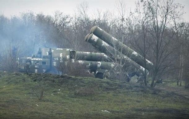Штаб ООС показал видео тренировок ПВО