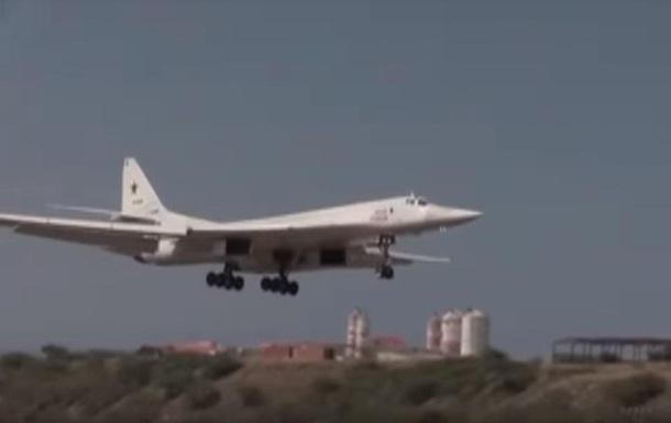 У Росії показали політ ракетоносців над Карибами