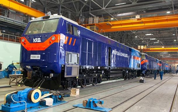 Укрзалізниця починає експлуатацію перших локомотивів General Electric