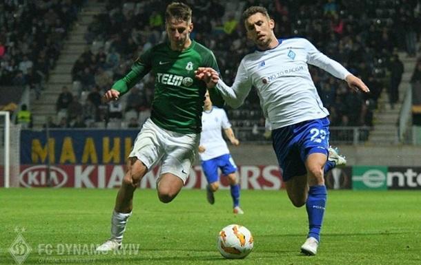 Динамо завершило год поражением от Яблонца