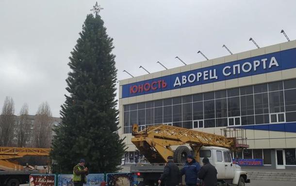 В Одеській області з головної ялинки викрали гірлянду