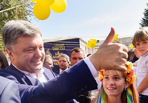 Украинцы сказали хотели бы они Петра Порошенко на второй срок Президентом