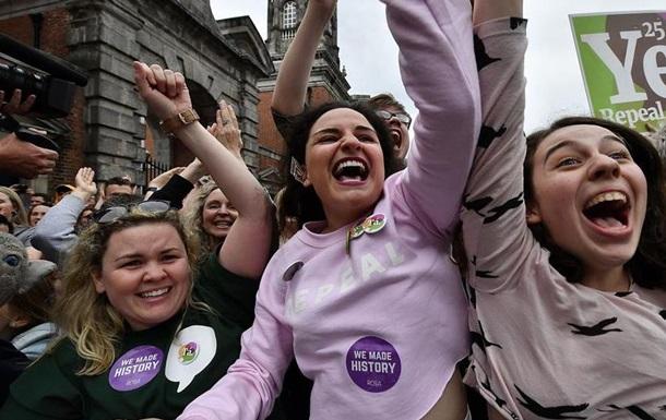 Ірландський парламент проголосував за легалізацію абортів