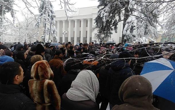 Поліція посилила охорону через молебень УПЦ МП