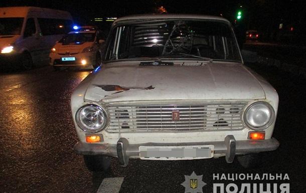 В Запорожье задержали водителя, который сбил пешехода и скрылся