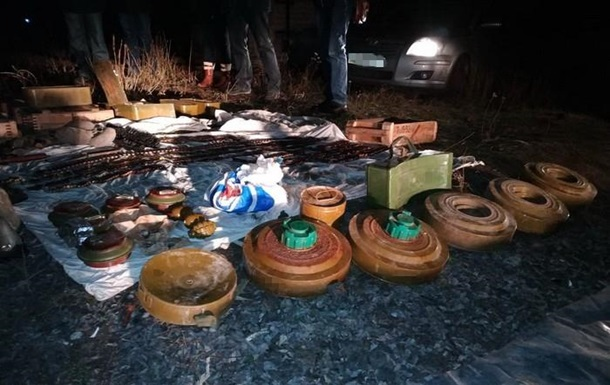 В Константиновке обнаружен крупный склад боеприпасов