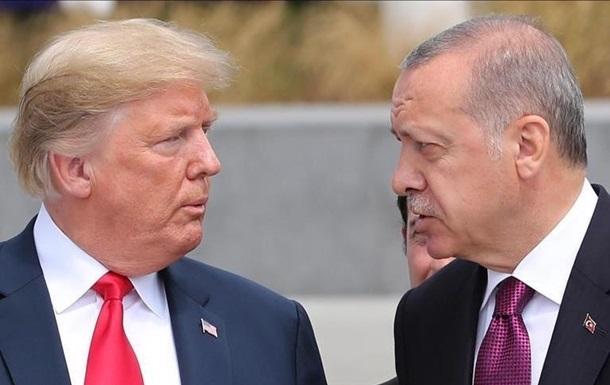Трамп і Ердоган обговорили ситуацію в Сирії