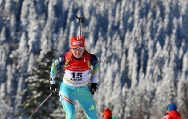 Українська біатлоністка виграла бронзу на етапі Кубка IBU