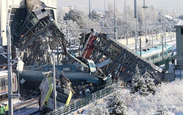 Опубліковано відео зіткнення поїздів в Туреччині