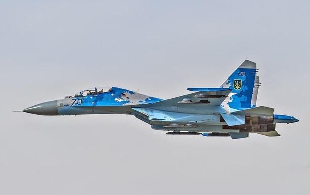 В Україні розбився винищувач Су-27