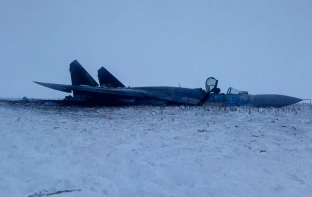 Крушение Су-27 под Житомиром: фото с места ЧП